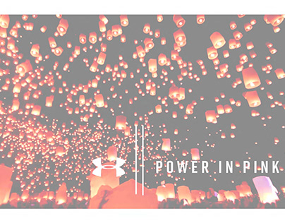 UA|| POWER IN PINK.