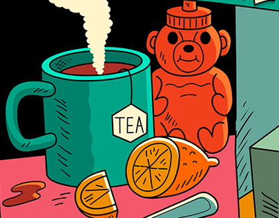 Flu Season Illustration