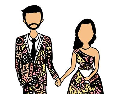 Tarjeta de boda / Wedding card