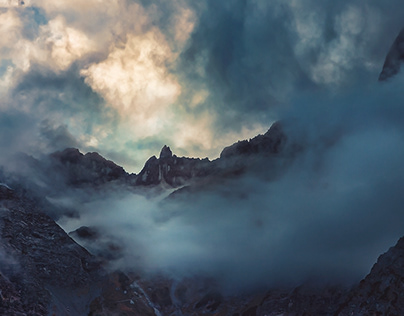 In the Karwendel Mountains