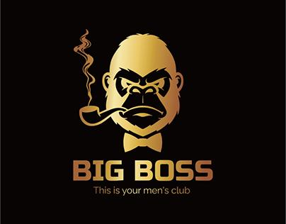 Логотип меню и сайт для Bigboss-club.kz