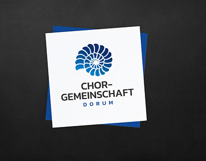Logo design for a choir community