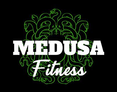 Medusa Fitness   Logo Design
