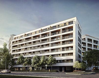 Housing estate, Warsaw