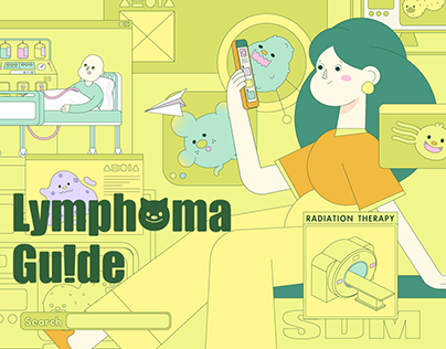 Lymphoma Guide motion design