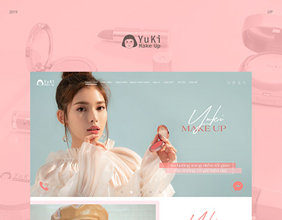 YuKi Make Up - Website
