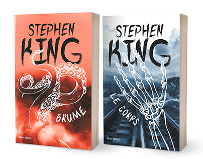 Stepehn King - Book cover graphical charter