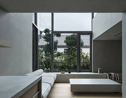 House in Gotanda by Suppose Design Office