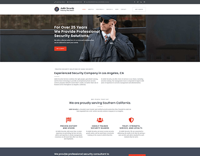 Aable Security Website
