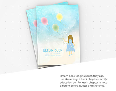Dream book for girls