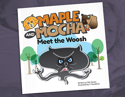 Children Book Illustration: MAPLE AND MOCHA