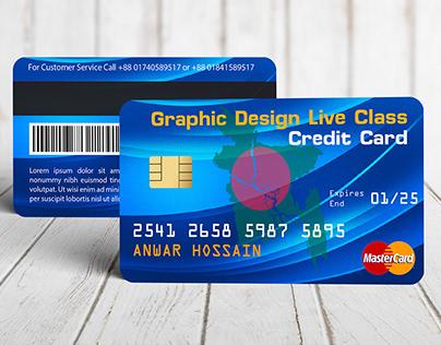 Master Card or Credit Card Design