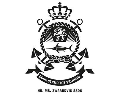 Badge submarine Hr.Ms. Zwaardvis S806