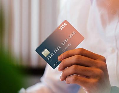 Credit Card Mockup [Free PSD file download]