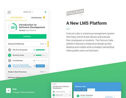 Fulcrum Labs UI Design