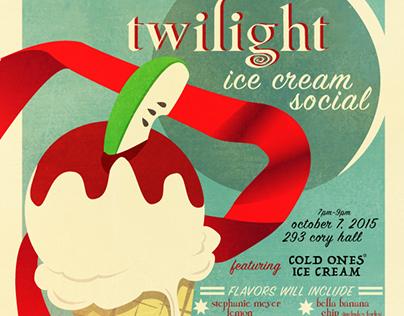 Design Course | Ice Cream Social Flyer