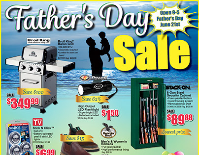 Father's Day Sale 2015