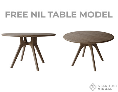 Free Table Model \ Nil by More \ Corona & Fstorm
