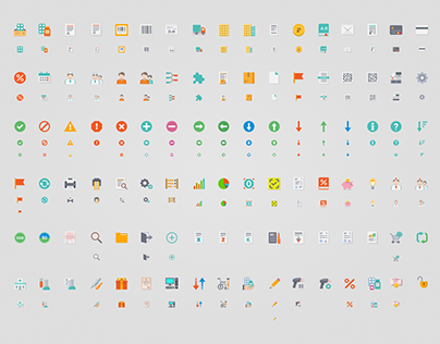 Icon set for pharmacy software