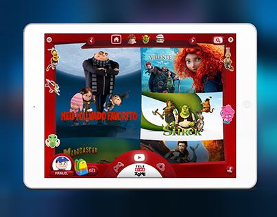 Telecine PlayZone iOS App for Kids