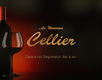 BRANDING, CREATION LOGO & DESIGN : Le Nouveau Cellier
