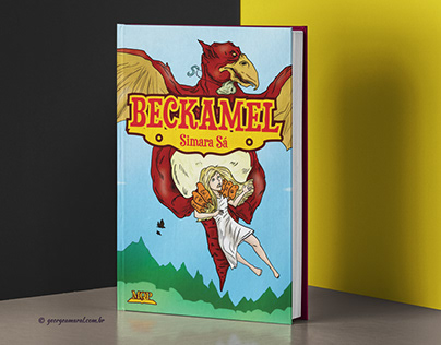 Beckamel - cover illustration and book design
