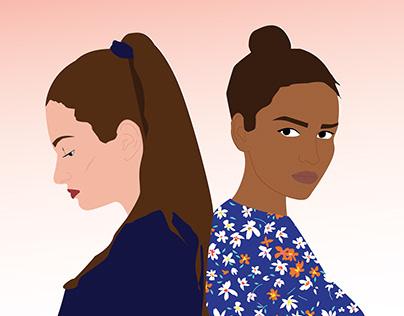 Illustrations for Teen Breath Magazine