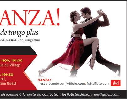 DANZA ! (soirée Tango)
