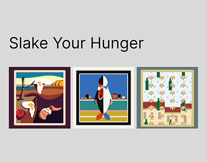 Art masterpieces: when you are hungry and cooking food