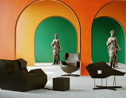Product Render - Vértice Chairs