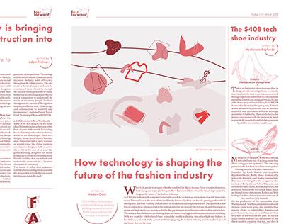 Fast forward - An editorial spread