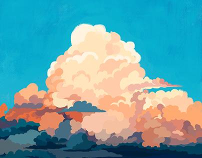 Nube - Poema Ilustrado