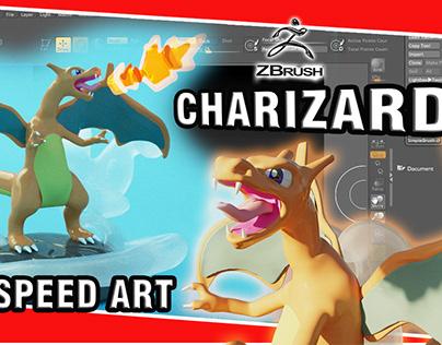 Charizard Pokemon 3d