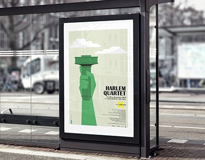 Affiches de théâtre - Harlem Quartet