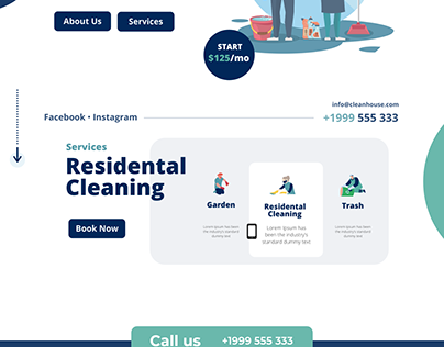 CleanHouse- Cleaning Service