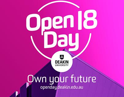 Deakin University 'Own your future'
