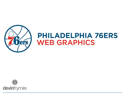 Philadelphia 76ers :: Web Graphics