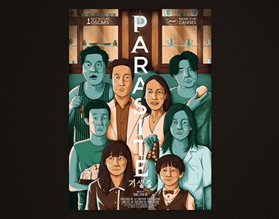 Parasite - alternative movie poster