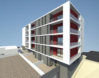 Edifício de Habitação_JoãoVintém_Portugal