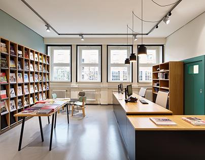 Bibliothek / interior