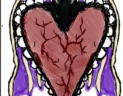 Heart taking flight.