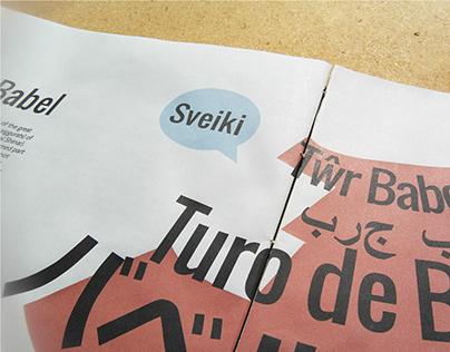 Lingua - Typographic Magazine