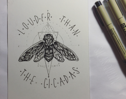 I Will Outscream the Cicadas