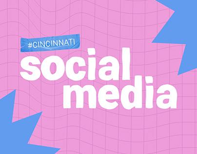 Cincinnati | Verão 2021 | Social Media