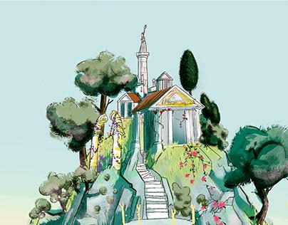 Animation Backgrounds: Thalia Todavia te quiero