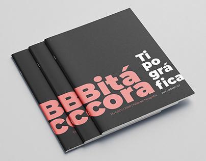 Bitácora tipográfica