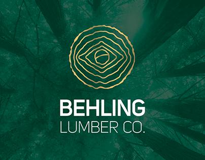 Identidade Visual - Behling Lumber Co.