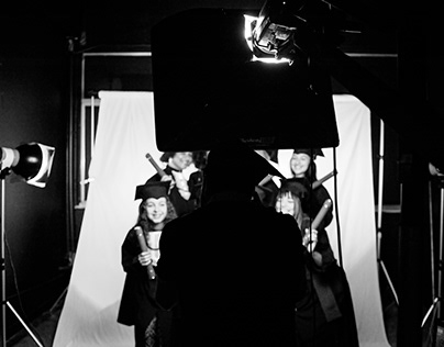 Backstage : Formatura do curso de fotografia 2017.2