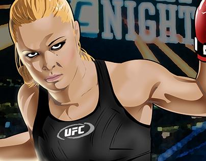 Cover version comics Ronda Rousey