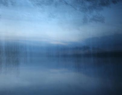 Błękitne jezioro / Blue Lake